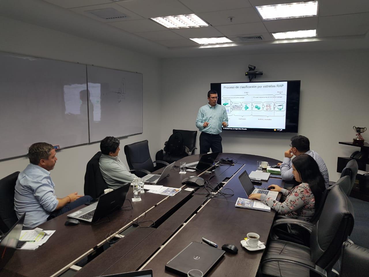iRAP ayudará a evaluar y mejorar la seguridad vial en Perú