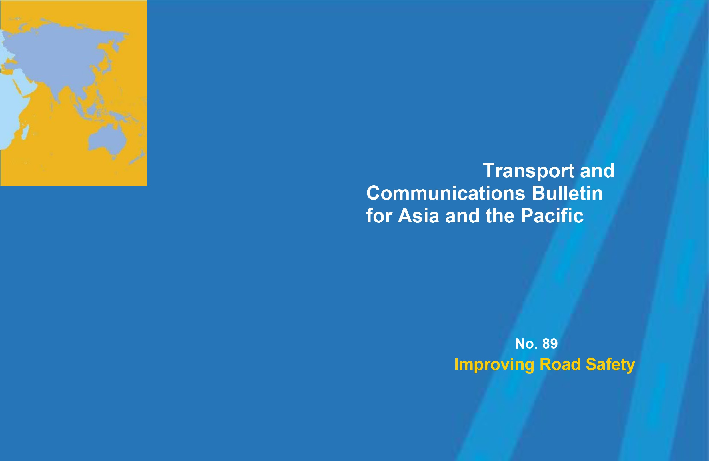 iRAP paper features in the UN ESCAP Transport and Communications Bulletin for Asia and the Pacific