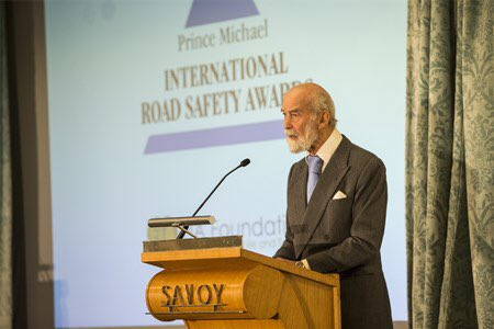 Congratulations to all our partners and supporters for their Prince Michael International Road Safety Awards 2019!