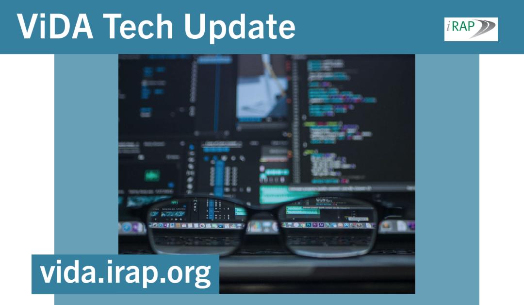Technical update: ViDA dataset edit page