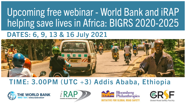 New webinar series: World Bank and iRAP helping save lives in Africa
