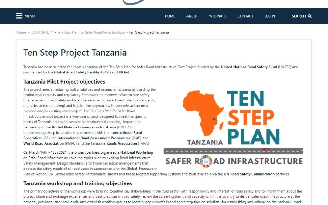 gTKP Resource: Official webpage for Ten Step Project Tanzania