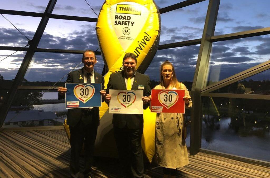 UNGRSW underway with Australian Road Safety Week launch