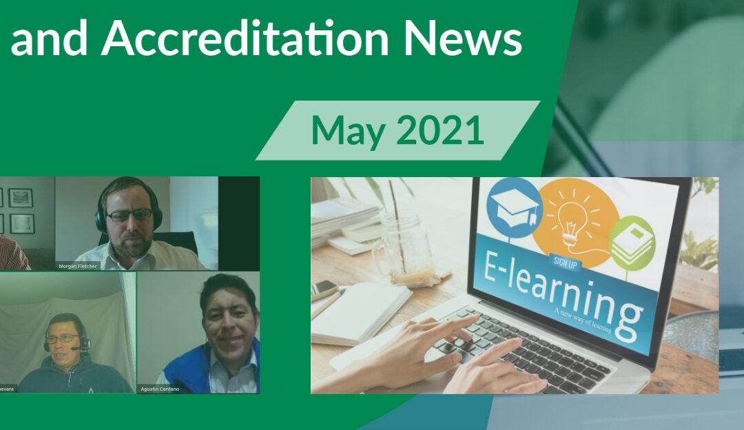 НОВЫЙ информационный бюллетень по обучению и аккредитации - выпуск за май 2021 г.