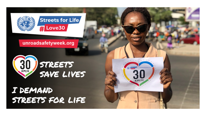 UN Global Road Safety Week – join us and take action!