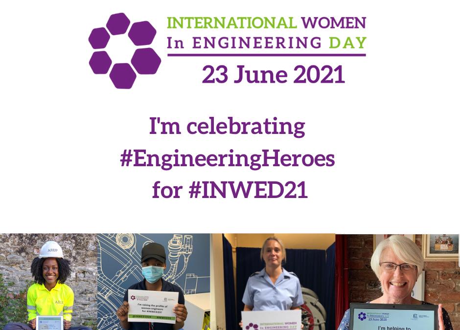 Celebrating International Women in Engineering day in June