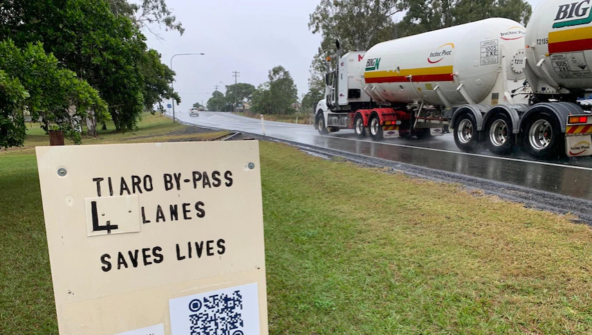 AusRAP News: Extra $183 million funding for Tiaro Bypass on Bruce Highway to enhance safety