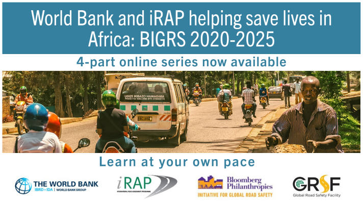 BIGRS Africa online series – World Bank and iRAP help to save lives on African roads
