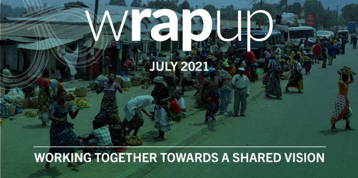 Latest WrapUp newsletter now available – July 2021 Edition