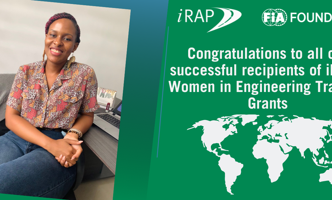 Congratulations to all our successful candidates for iRAP Women in Engineering training grants!