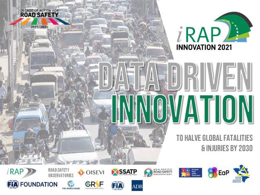 """Join in 5 Languages: 2021 Innovation Workshop with Regional Road Safety Observatories """"Data Driven Innovation to Save Lives"""""""