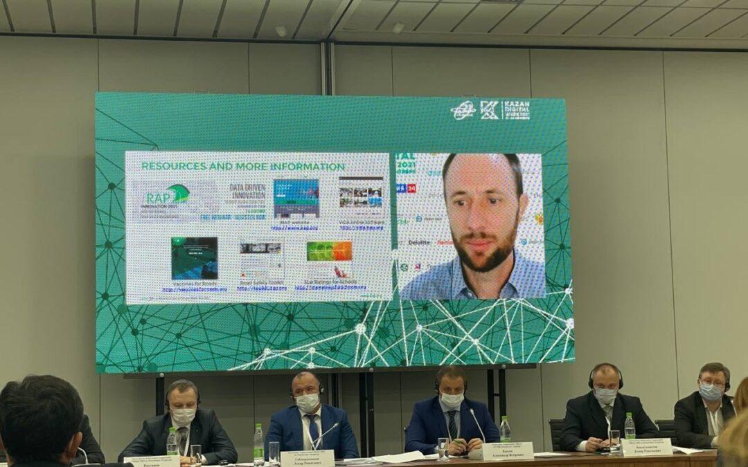 iRAP presents at International Kazan Digital Week, Russia