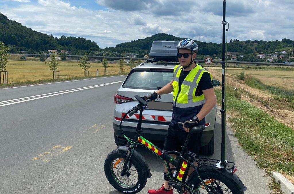 SABRINA maps cycling risk in Croatia, Slovenia and Austria
