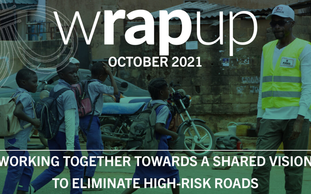Latest WrapUp newsletter now available – October 2021 Edition